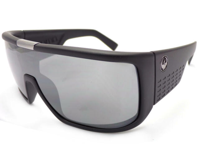 864e098731 Dragon Domo Sunglasses Matte Black With Silver Ion Lens Sunnies for ...