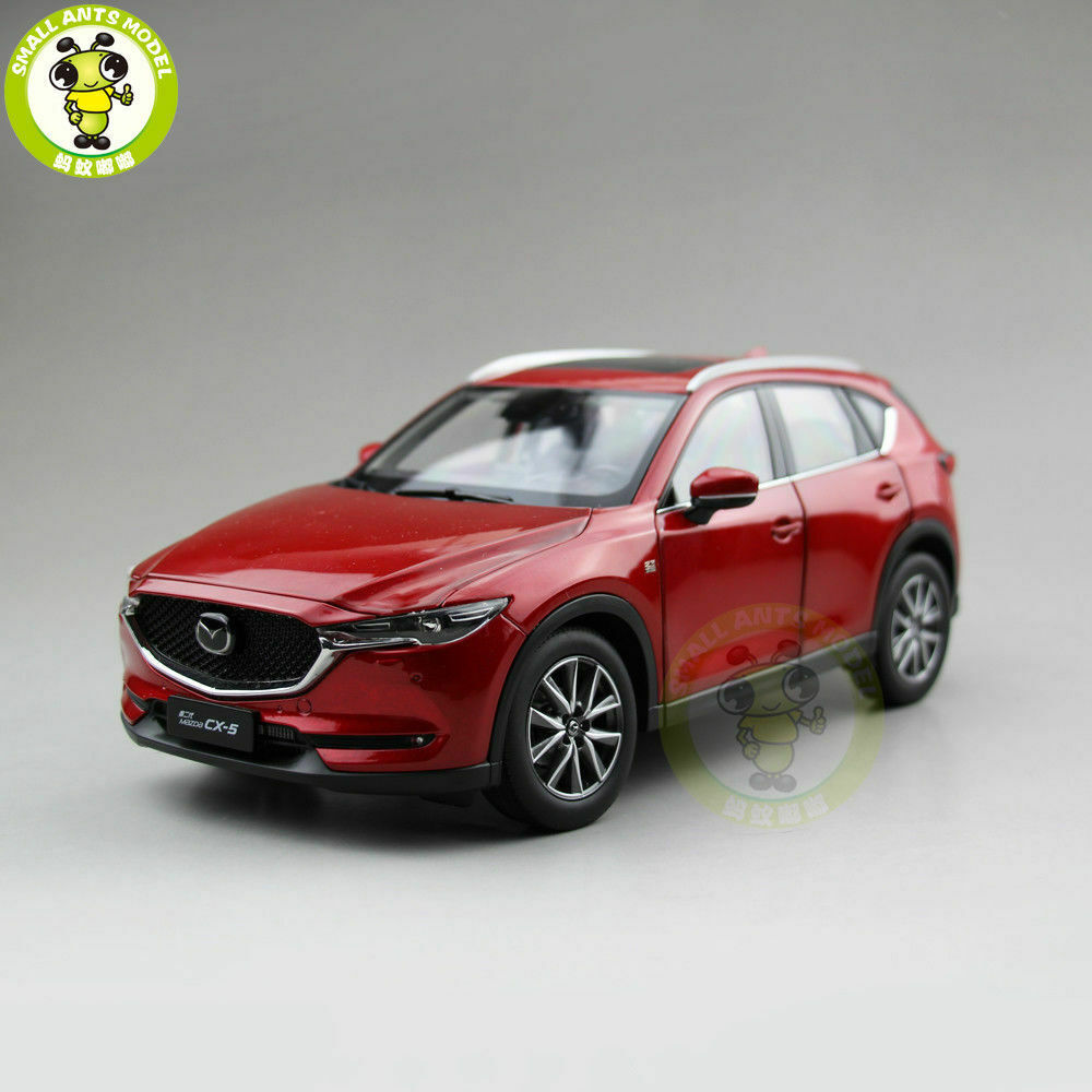 1 18 All New Mazda CX-5 CX 5 2018 SUV Diecast Car SUV Car Model Toys for Kids