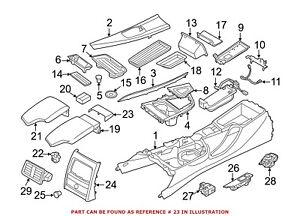 For BMW Genuine Center Console Latch Left 51169148535