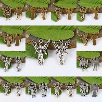 8pcs Tibetan silver archangel zadquiel charms  h1396