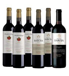 HEREDAD DE BAROJA Rioja Mixed Pack (6 x 750ml)