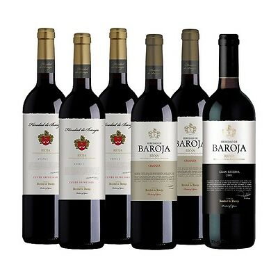 HEREDAD DE BAROJA Rioja Mixed Pack (6 x 750ml)