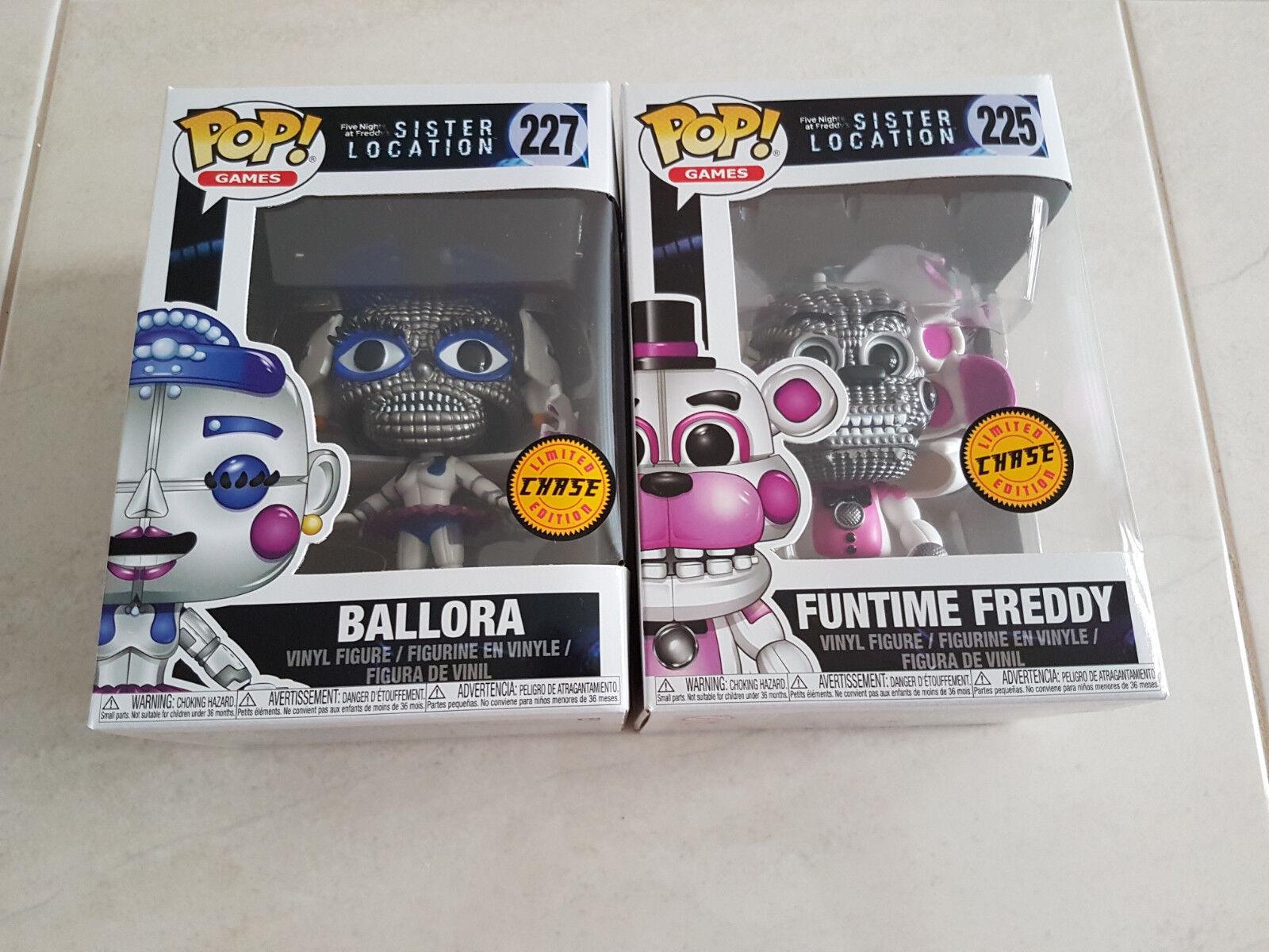 FUNTIME FrossoDY + BALLORA x2 CHASE EXCLUSIVE FUNKO Pop Vinyl Figure NEW RARE Sale