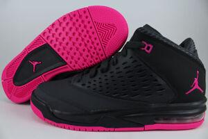 nike air jordan pink and black