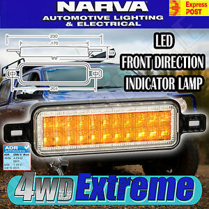 Narva 95202 led indicator amber led front model 52 lamp light image is loading narva 95202 led indicator amber l e d front model aloadofball Image collections
