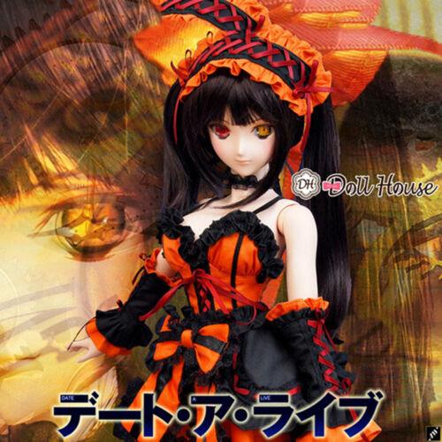 1//3 BJD SD DY DDS DD Anime Date A Live Tokisaki Kurumi Bjd Doll Dress Clothing