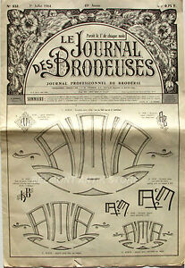 Le Journal Des Brodeuses N°832 - 1964 - Ecussons Pour Bavoir - Nappes - Rn1047gy-07161745-467948124