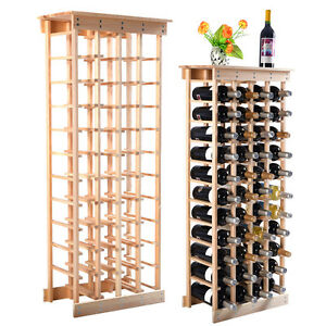 Incroyable Image Is Loading New 44 Bottle Wood Wine Rack Storage Display
