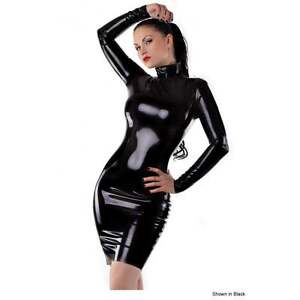 Rrp Rubber 152 Dress Westward blk £ 25 14 R0045 Latex Bound Seconds 8OUq8Sa