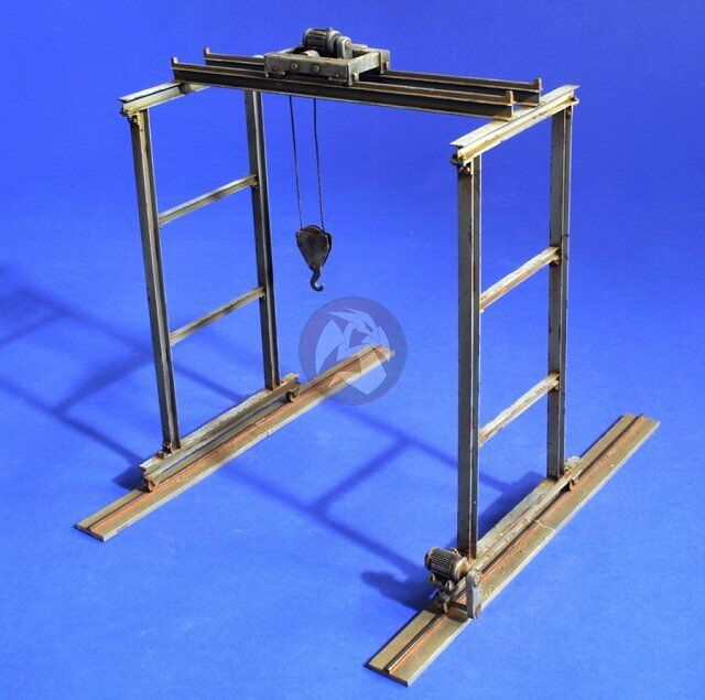 Verlinden 1 35 Panzerwerk Workshop Overhead Gantry Crane [Resin Diorama] 2716