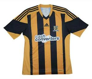 Hull City 2013-14 Authentic Home Shirt (eccellente) M SOCCER JERSEY