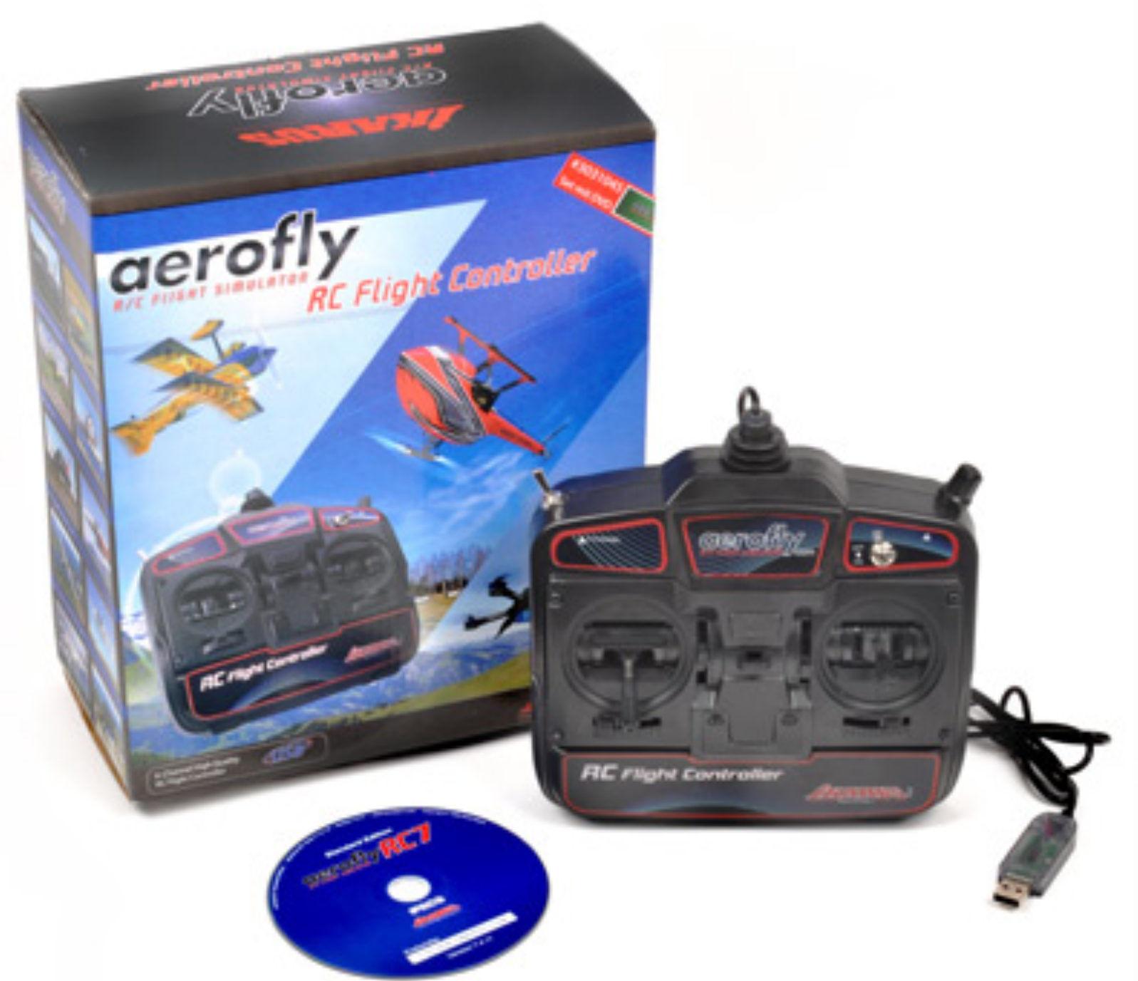 T2m Ikarus Aerofly rc7 LIGHT simulatore di volo ik3031045 incl. trasmettitore