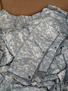 US-Army-USGI-Field-Tarpaulin-ACU-Foliage-Reversible-92-034-x-82-034-Camping-Tarp