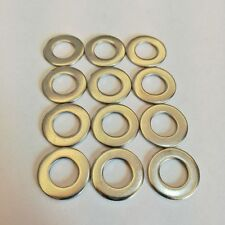 Us Stock 50pcs M10 10mm 304 Stainless Steel Metric Flat Washer Washers