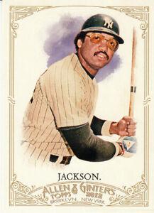 2012-Topps-Allen-amp-Ginter-039-s-Reggie-Jackson-HOF-RF-Yankees-Athletics-Angels-60