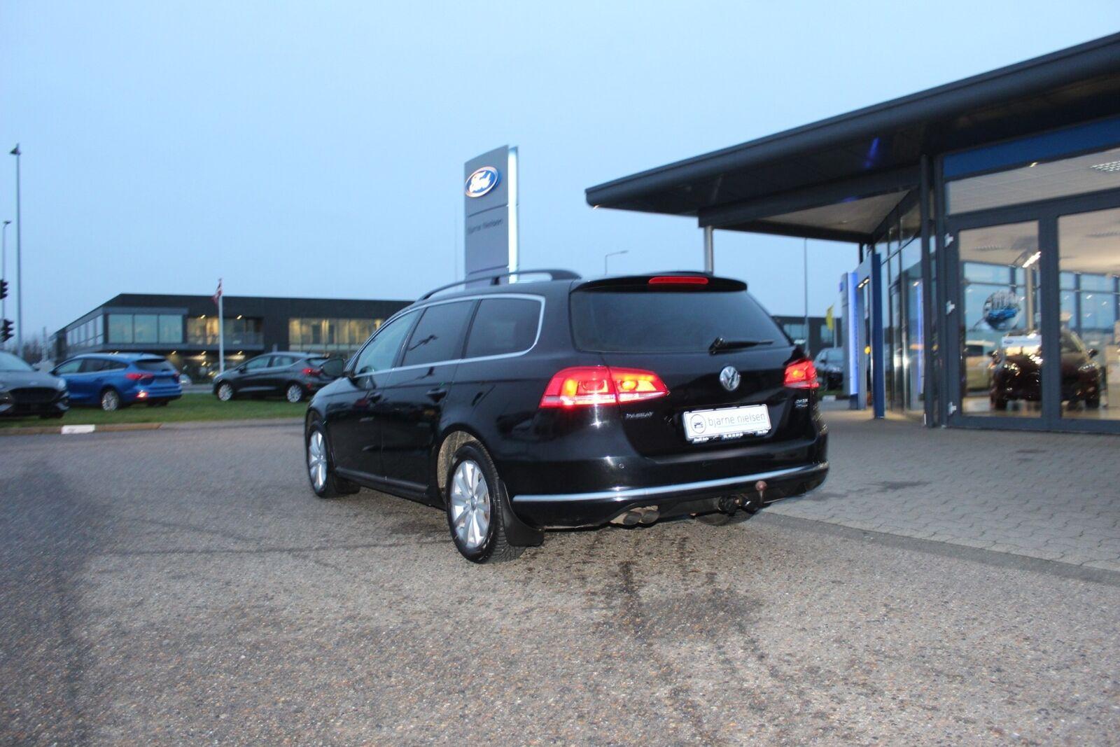 VW Passat 2,0 TDi 140 Comfortl. Vari. BMT - billede 2