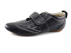 TOD-039-S-Black-Leather-Fashion-Sneakers-Women-039-s-Shoes-Size-US-8-5-EU-38-5