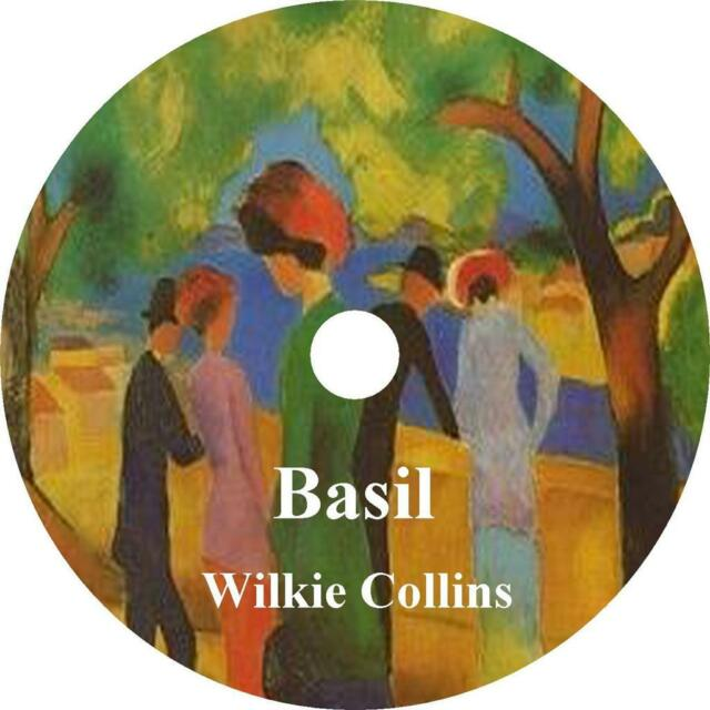 Basil, a Wilkie Collins Novel of Mystery, Love, Deception Audiobook 10 Audio CDs