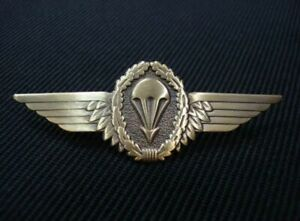 German-Germany-Army-Airborne-Jump-Parachutist-Paratrooper-Lapel-Pin-Wing-Bronze