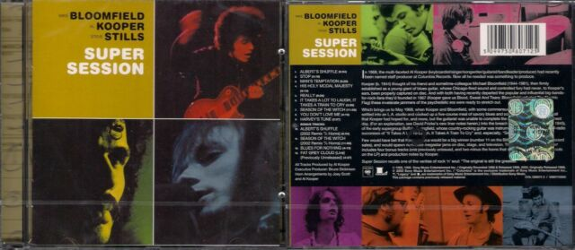 Michael Bloomfield, Al Kooper, Stephen Stills - Super session cd