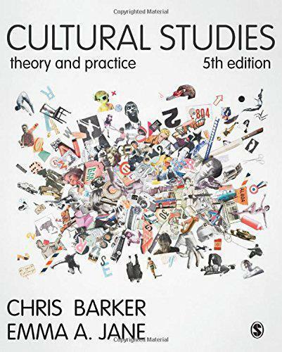 Cultural Studies: Theory And Practice de Jane,Emma un Barker,Chris,Nuevo Libro