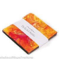 Moda Fabric Charm Pack De La Sol Batiks 40 - 5 Squares
