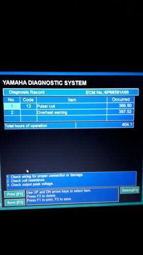 Diagnostic Cable Adapter for Yamaha Yds Marine OUTBOARD WAVERUNNER Jet Boat