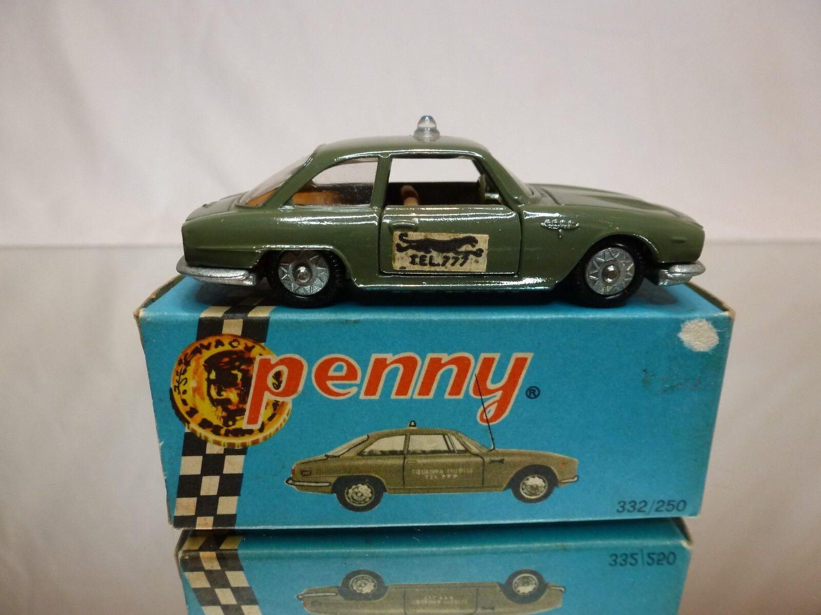 PENNY 1 66 ALFA ROMEO 2600 PANTERA  - GOOD CONDITION IN BOX - EXTREMELY RARE