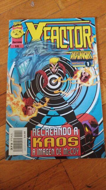 X-FACTOR N° 14 especial onslaught  COMICS FORUM EL ESTADO ES NORMAL