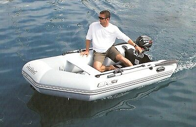 Boat & Motor Package ZODIAC BOMBARD Max 3 + AIR Deck Inflatable Tender  Outboard   eBay