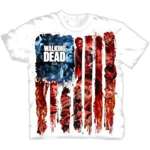 The-Walking-Dead-American-Gore-Official-Merchandise-T-Shirt-M-L-XL-XXL-Neu