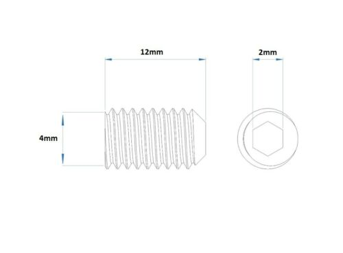 5pcs 4mm Amplifier Terminal Set Screws POWER GROUND SPEAKER REMOTE Amp Screw