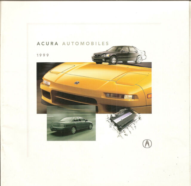 1999 Acura Dealer Sales Brochure