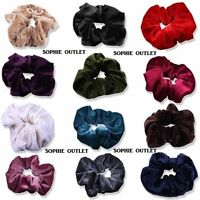 Girls Ladies Hair Scrunchies Scrunchie Elastic Bobbl Sports Scrunchy Hair Band