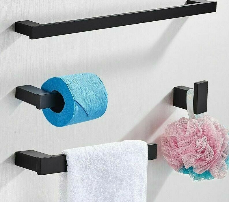 Wall Mounted Bathroom Accesory For Hanging Towel Rack Toilet Paper Holder Tissue