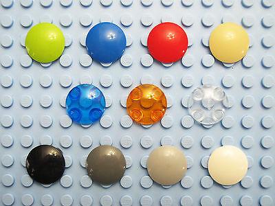 LEGO 2654 Round Dish 2 x 2 quantity of 30 dark bluish grey