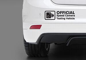 Vitesse d/'essai drôle pare-chocs//voiture//fenêtre vinyle stickers autocollant jdm euro dub honda