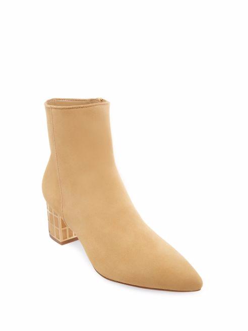 Nuevo En Caja Brian  250 B Brian Caja Atwood Kallie Tobillo botas De Gamuza-camel talla 9.5 722612