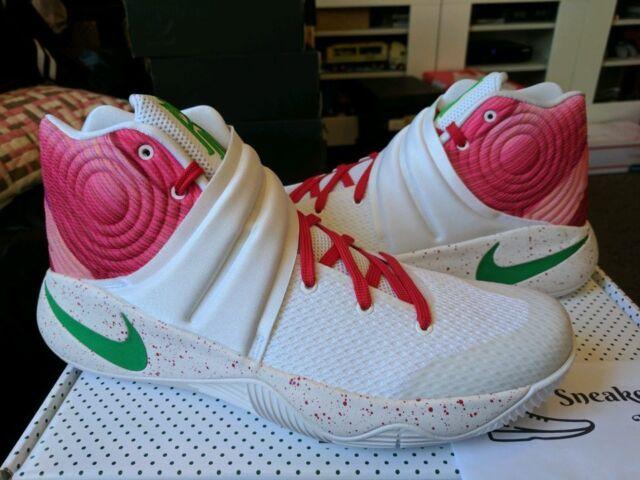 1ee83ed736ad Nike Kyrie II 2 PRM Krispy Kreme Kyrispy White Lucky Green Gym Red  914295-163