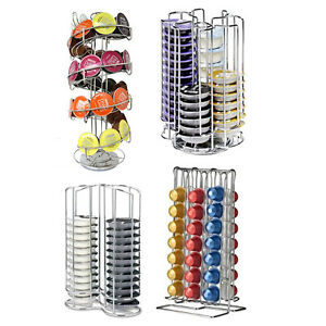 Tassimo Coffee Maker Vs Dolce Gusto : Nespresso Tassimo Dolce Gusto Coffee Pod Capsule Holder Storage Stand Tower eBay