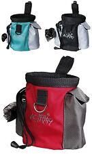 Trixie actividad Bolsa con fácil Perro Bolsa Dispensador & Treat Pouch + 20 Bolsas 32283