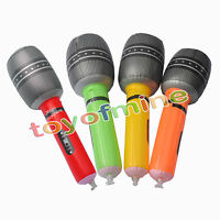 Microphone Multi Inflatable Microphones Toys For Kids Favors Baby Funny Colors