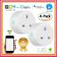 Wi-Fi-Smart-UK-Socket-Plug-Compatible-For-Google-Amazon-Alexa-APP-Voice-Control thumbnail 1