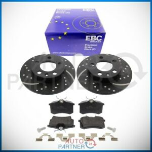 EBC-for-Audi-A4-S4-B5-Sportbremse-Brake-Discs-Pads-Rear-Perforated
