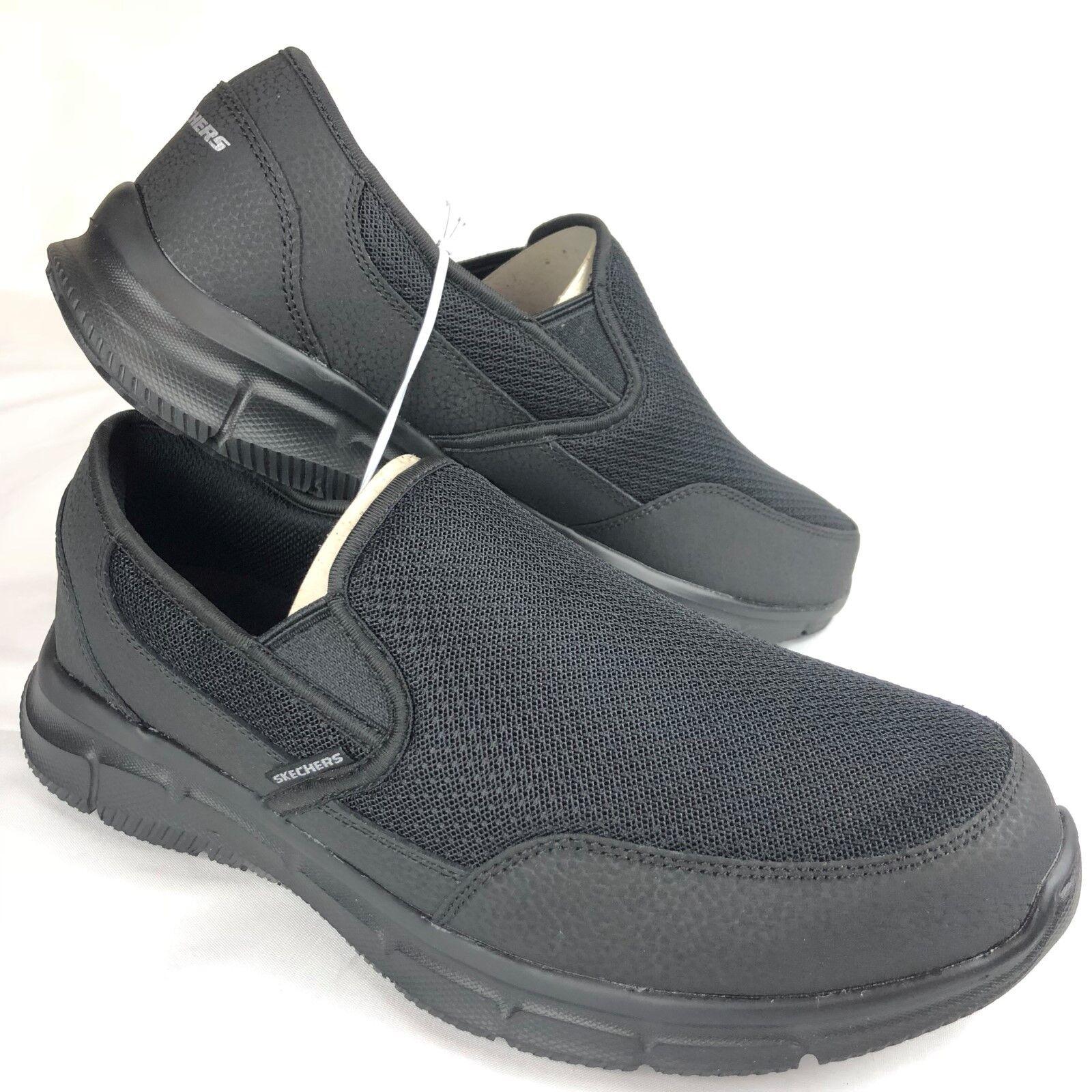 Skechers Air- Cooled Memory Foam Cool Calm Mesh Mesh Mesh Leather Slip On schuhe 9.5 10 10. 93b77e