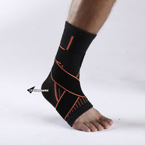 Ankle-Sprain-Brace-Foot-Support-Bandage-Achilles-Tendon-Strap-Guard-Protector