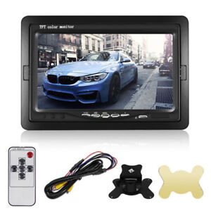 7-034-TFT-LCD-Color-Monitor-for-Car-RearView-Headrest-DVD-VCR-Monitor-2-Video-Input