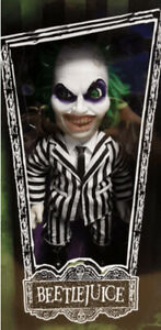 "Mezco Toys MDS 15"" Talking Beetlejuice Action Figure Doll Brand New"