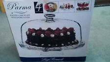 Luigi Bormioli Michelangelo Masterpiece Footed Cake Plate with Dome Cover RM106