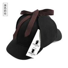 item 4 Men Women Outdoor Cap Detective Sherlock Holmes Deerstalker Cosplay  Beret Hat -Men Women Outdoor Cap Detective Sherlock Holmes Deerstalker  Cosplay ... 6f238dd4aa78
